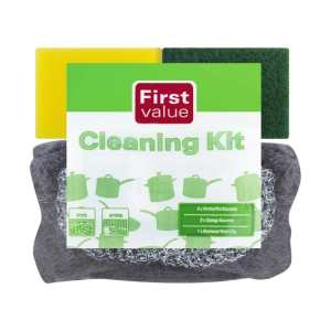 First Value Cleaning Kit 6 Piece (1 x 6's)