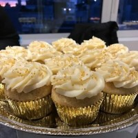 Hennessy Infused Vanilla Cupcakes