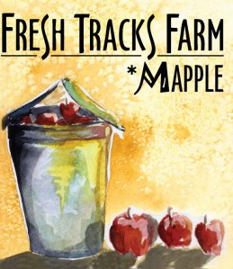 Mapple Wine Label - Art by Sienna Fontaine