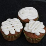 Carrot Cupcakes & Mapple Wine Frosting