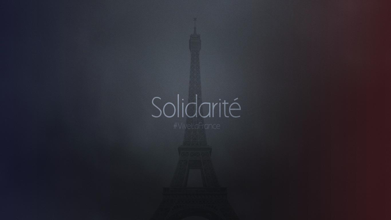 Paris Solidarite Wallpapers