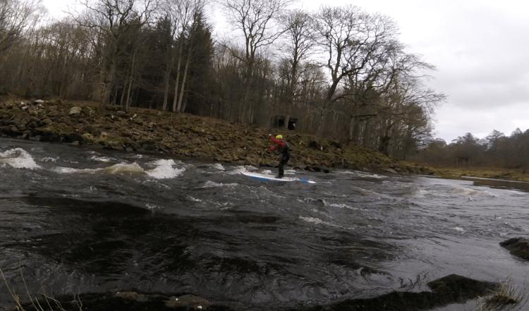 Whitewater SUP Paddleboard UK
