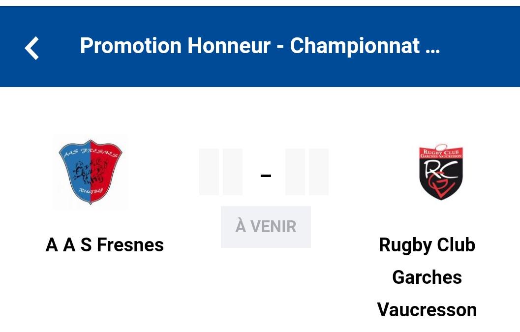 Read more about the article Séniors PH Fresnes-Garches/Vaucresson