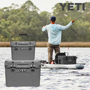 YETI® Charcoal Collection Available for a Limited Time