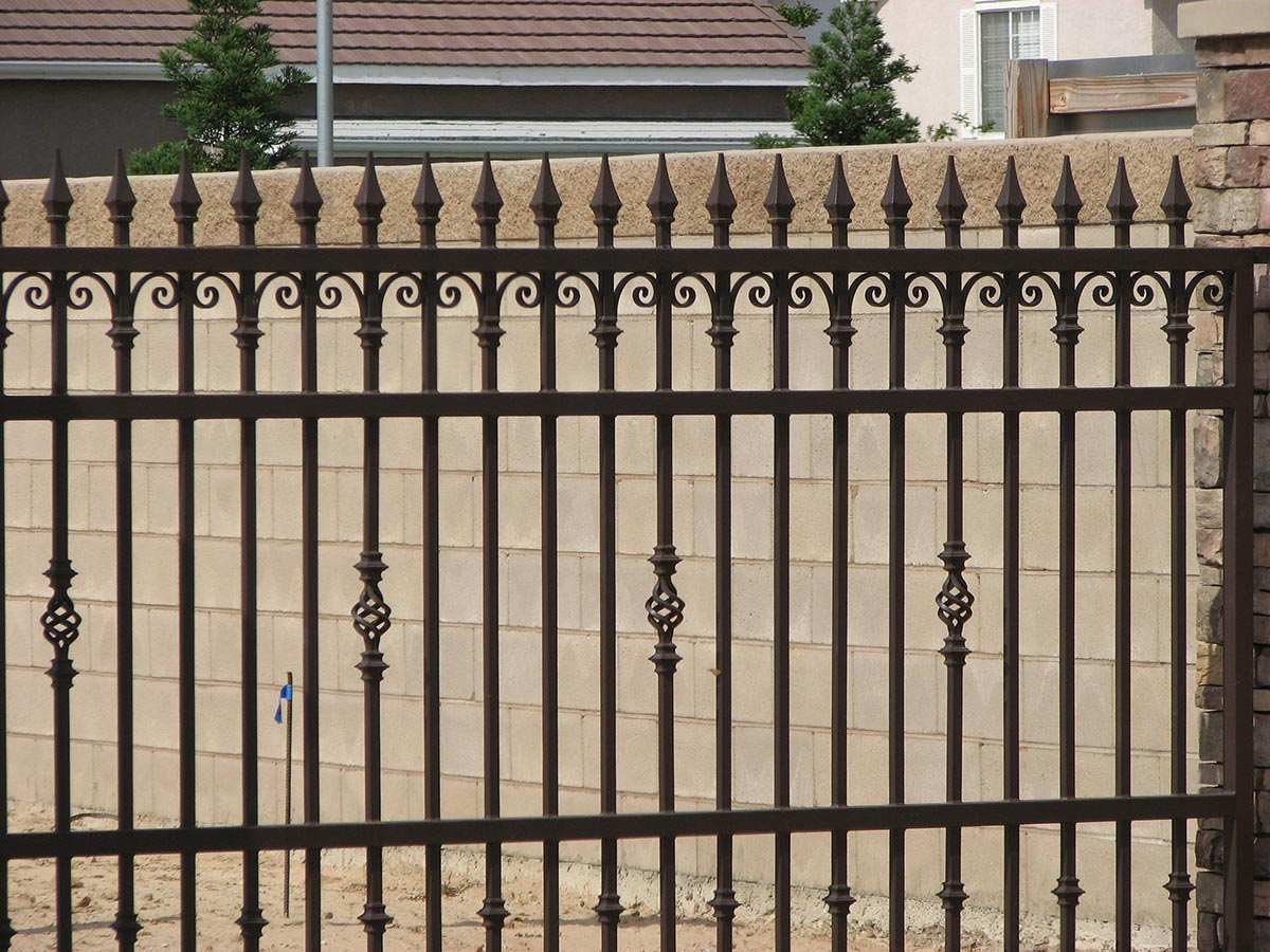 Fences Wrought Iron Fresno Fence Connection