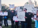 Ayotzinapa Missing 43 Vigil at Mexican Consulate in Fresno California