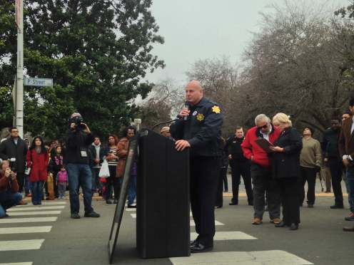 Fresno Police Chief Jerry Dyer Martin Luther King Parade