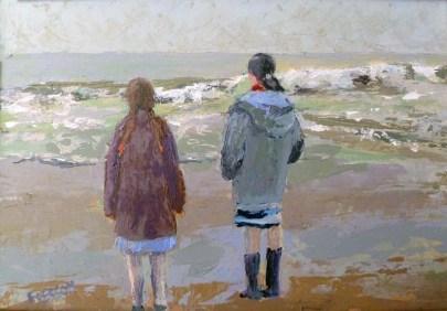 Tableau Claire Fresson : Les deux filles