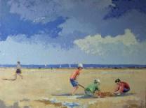 Tableau Claire Fresson Château de sable