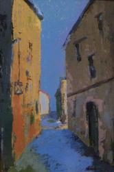 Rue bleue 61x38