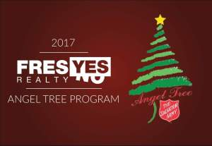 Help FresYes make a difference for children through the Angel Tree program