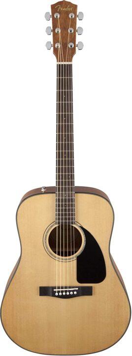 Fender CD-60 V3 Acoustic Guitar, Natural, Walnut Fingerboard