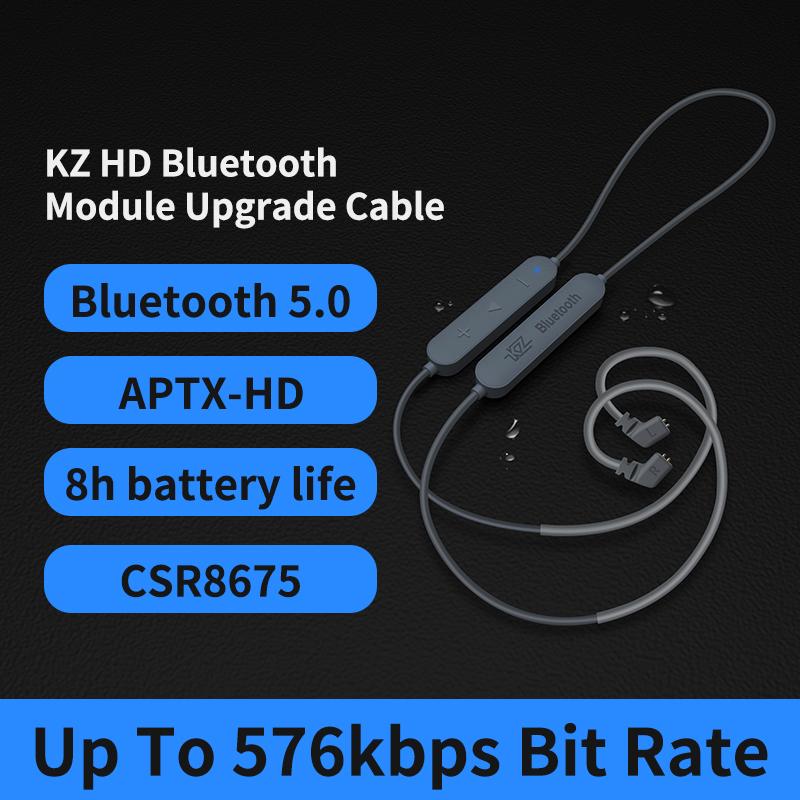 Kz Aptx Hd Csr8675 Mmcx Bluetooth Module Earphone 5 0 Wireless Upgrade Cable Applies Headphones As10zstzsnprozs10pro As16 Zsx Fretspeed Music