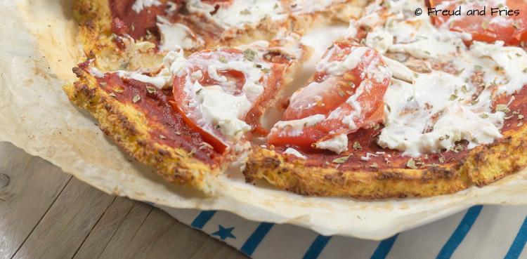 IY- Koolhydraatarme pizza (bloemkool pizza) | Freud and Fries