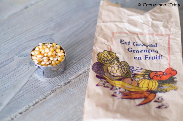 DIY- Eenvoudig zelf popcorn maken in de magnetron | Freud and Fries