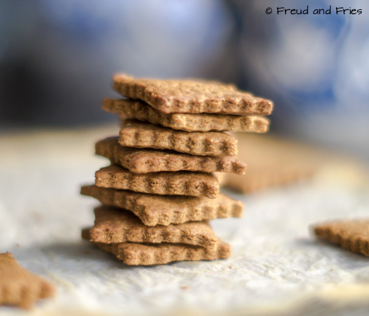Gezonde honing-kaneel graham crackers | Freud and Fries