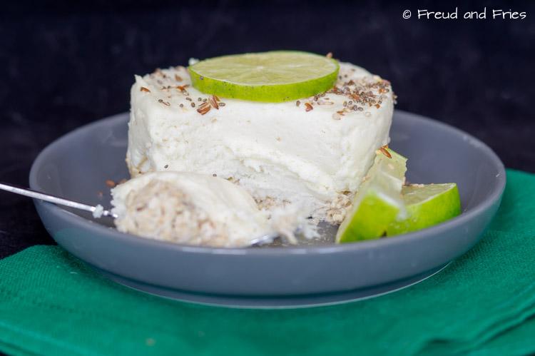 Mini no-bake limoen cheesecake (gelatine-vrij)   Freud and Fries