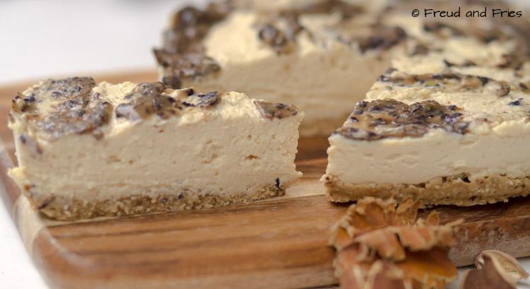 Blueberry tofu cheesecake | Freud and Fries