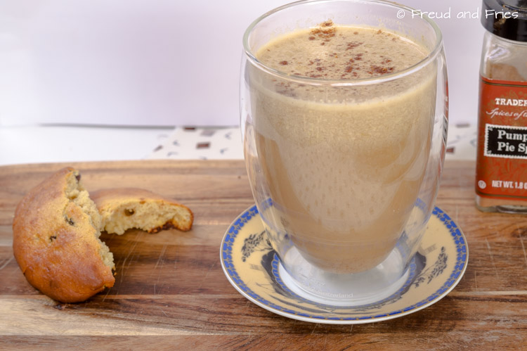 Protein pumpkin spice latte | Freud and Fries