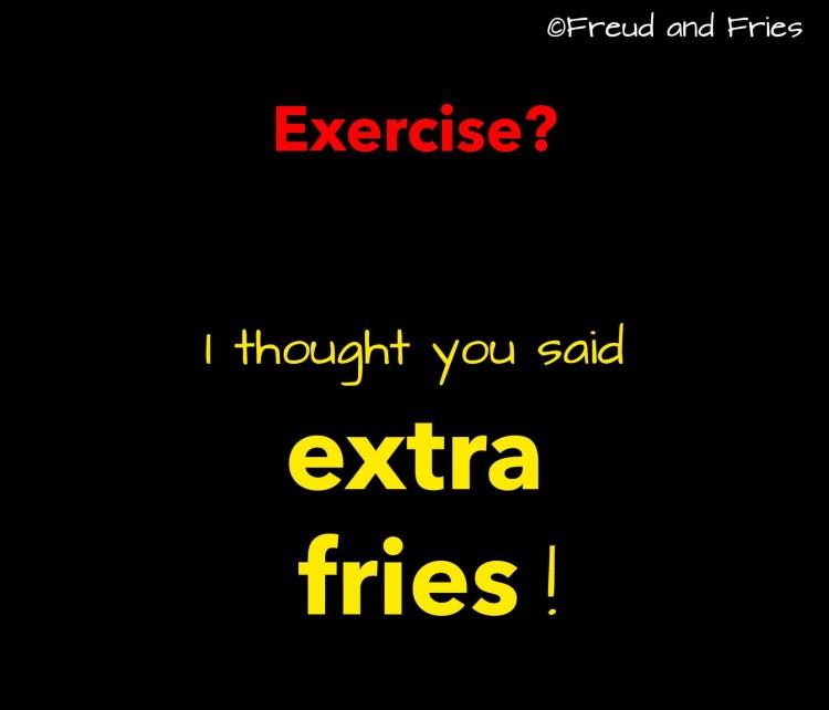 Wat ik vind van een dieet | Freud and Fries