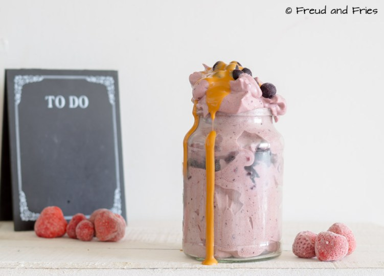 All-fruit protein fluff | Freud and Fries