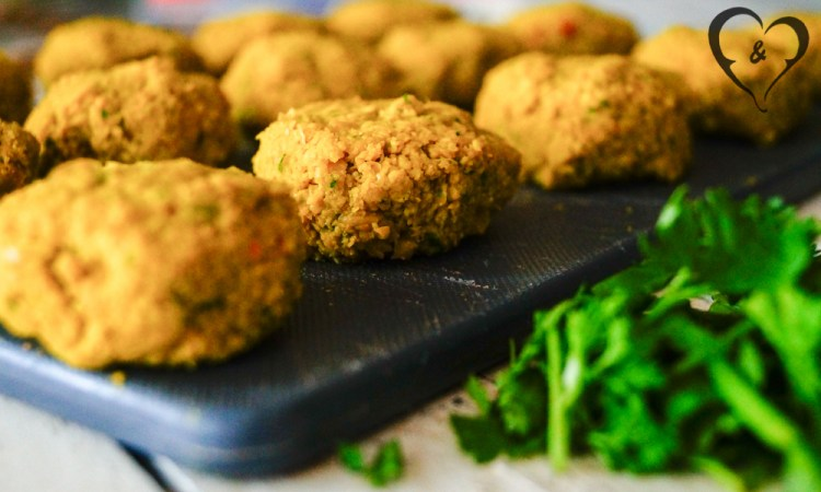 Homemade Airfryer falafel | Freud and Fries