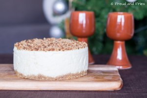 Pistache crumble cheesecake | Freud and Fries
