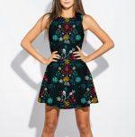 Folk Mockup Kleid
