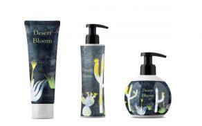 Bath Cosmetics_Packaging-Kakteen Desert Bloom