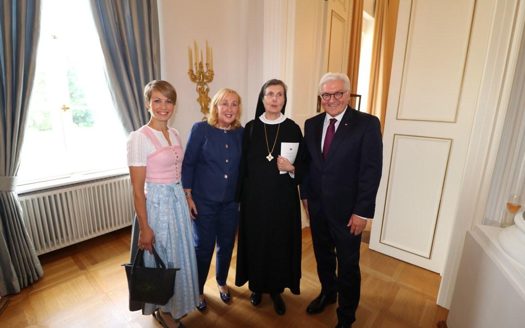 Irmengard-Hof beim Bundespräsidenten