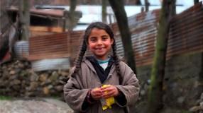 Kashmir Mädchen
