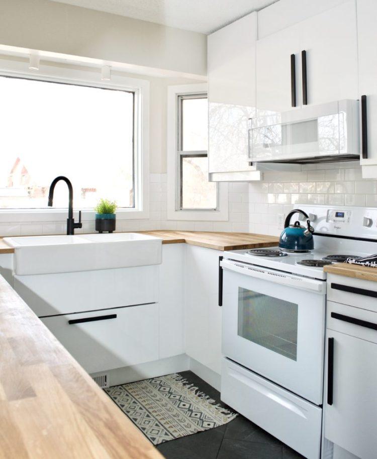 Before After Kitchen Renovation Interior Design Real Estate Staging