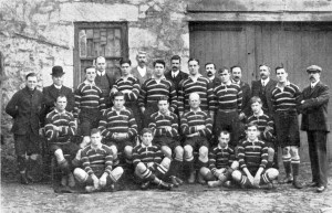 Cornwall County Champions 1907-8