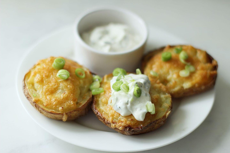 Recipe: Super Easy Cheesy Potato Skins   FOOD   FREYA WILCOX