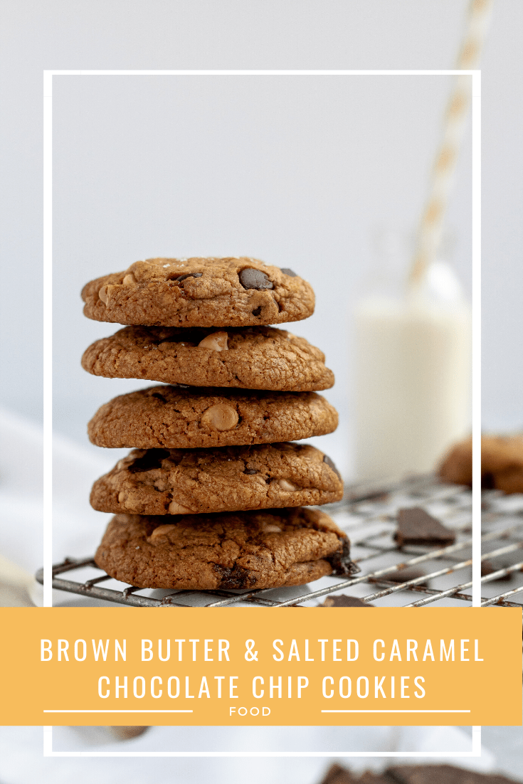 Recipe: Brown Butter & Salted Caramel Cookies