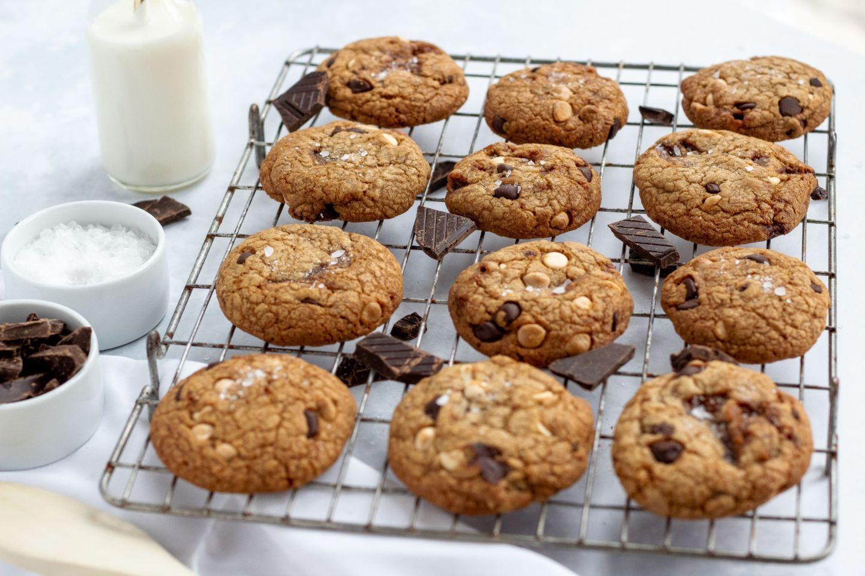 Recipe: Brown Butter & Salted Caramel Cookies