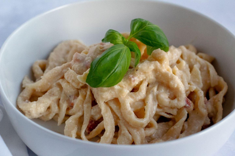 Recipe: Easy Pasta Carbonara | FOOD | FREYA WILCOX