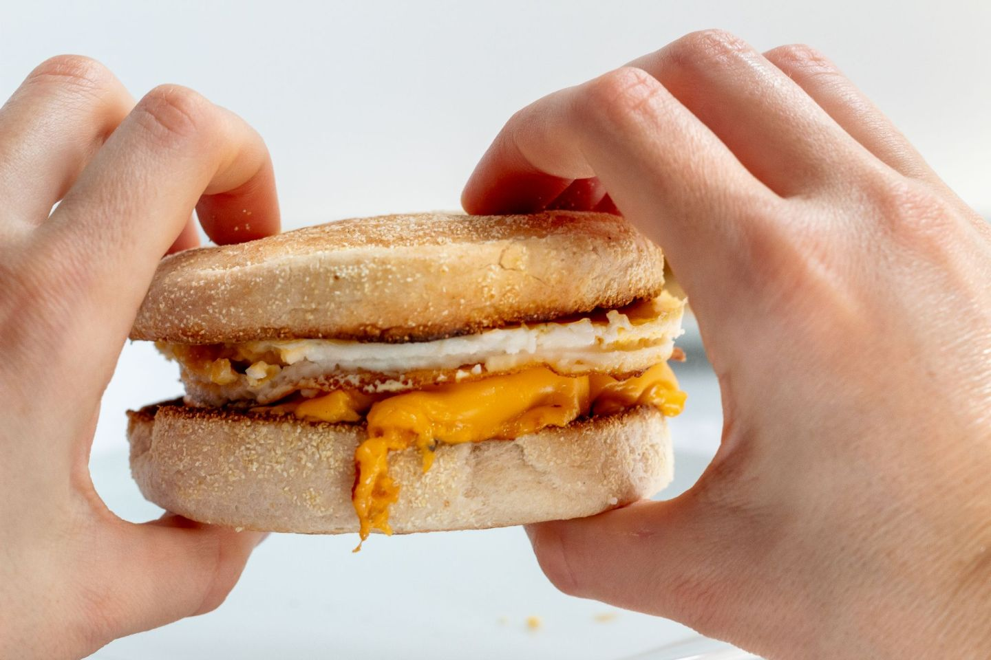Recipe: Fakeaway McDonald's Sausage & Egg McMuffin | FOOD