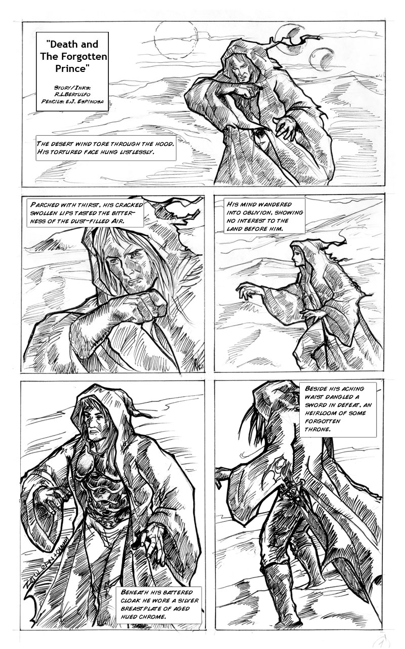 Preview Page for Sugbo Jam Komiks Anthology
