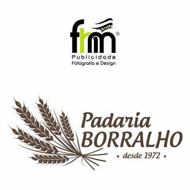 Logotipo Padaria Borralho