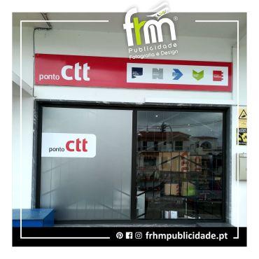 Decoração de ponto CTT – Torre Almancil