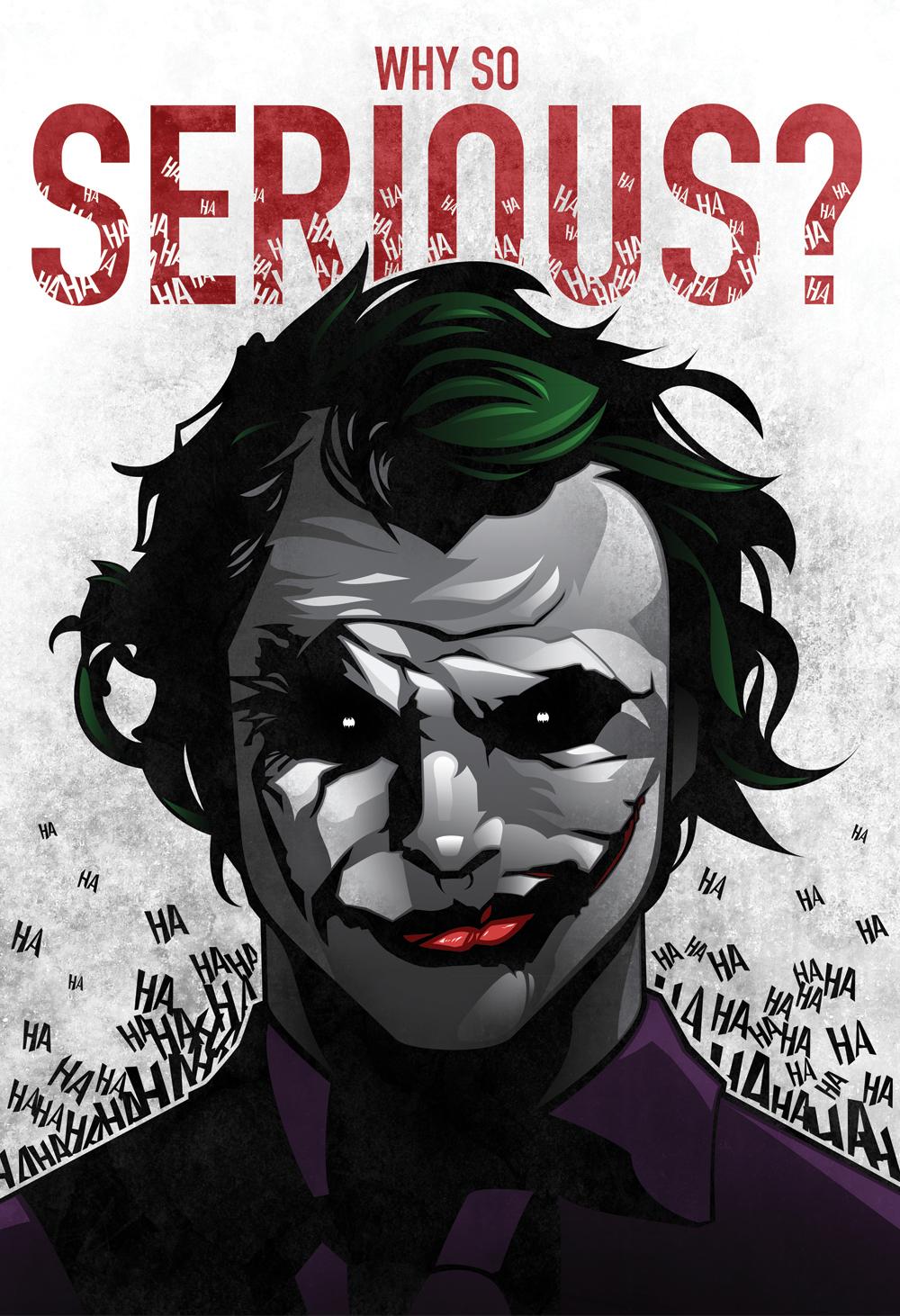joker - print design