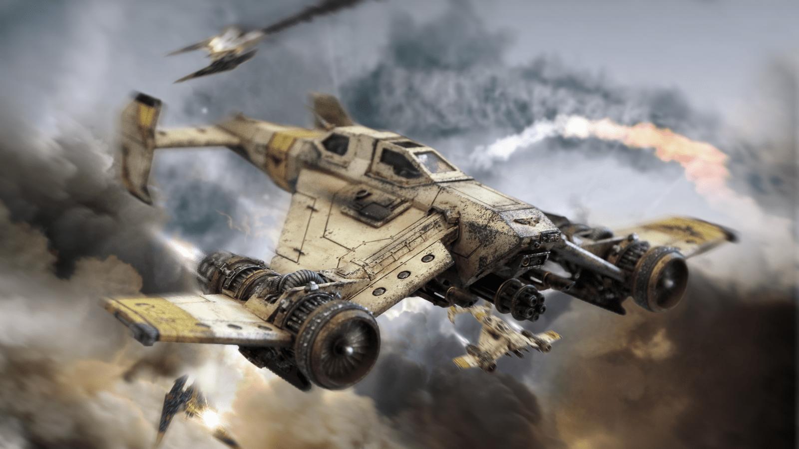 Imperial Domination Avenger Strike Fighter Digital Art