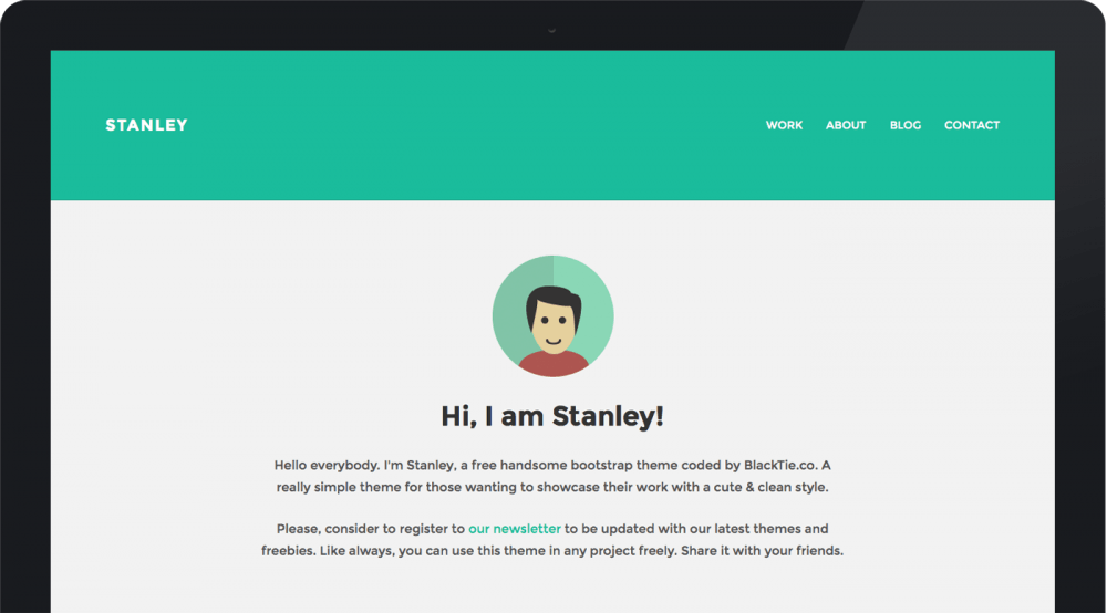 StanleyWP - Twitter Bootstrap WordPress Theme - Freebies - Fribly