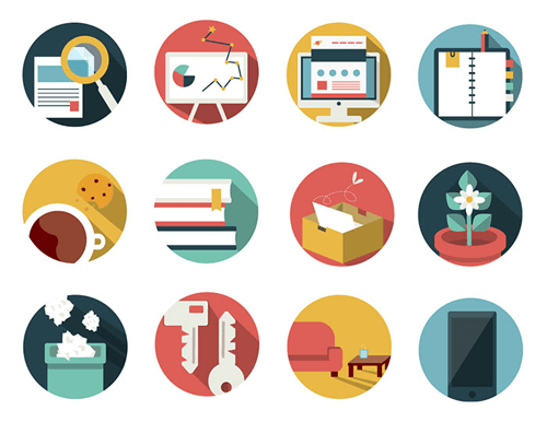 office and business icon pack - icons