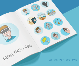 virtual-reality-icons