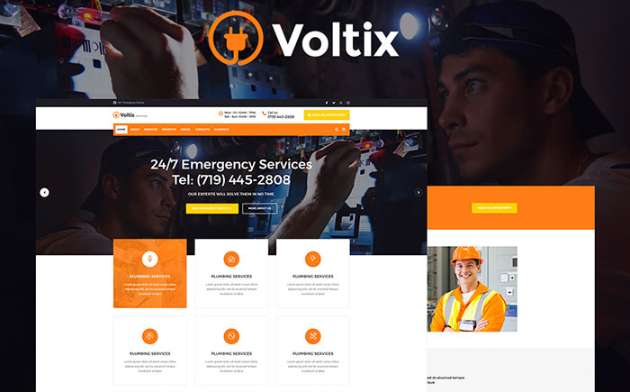 Electrical Services WP Theme