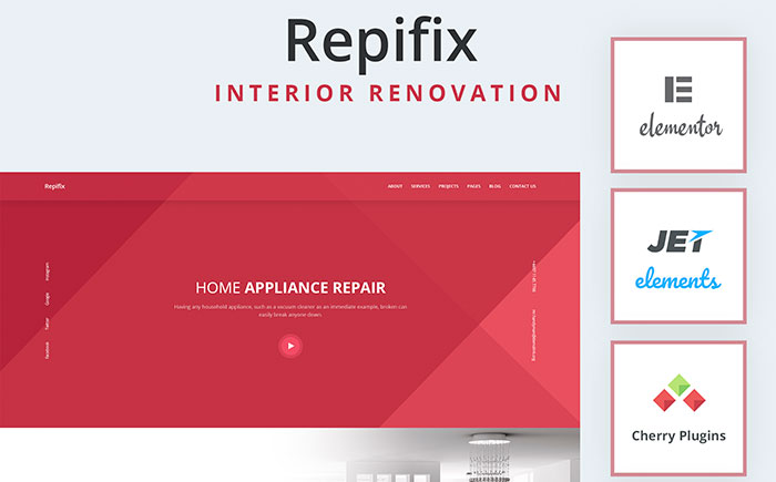 Interior Renovation WordPress Theme