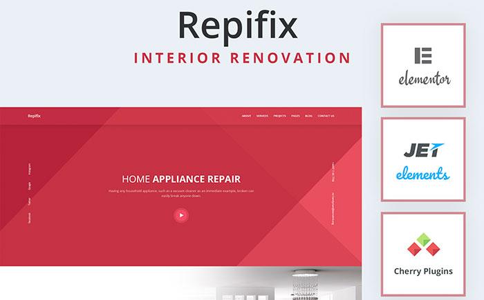 Interior Renovation WordPress Theme