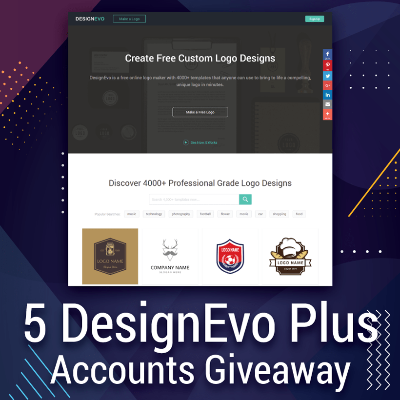 Unique logo giveaways